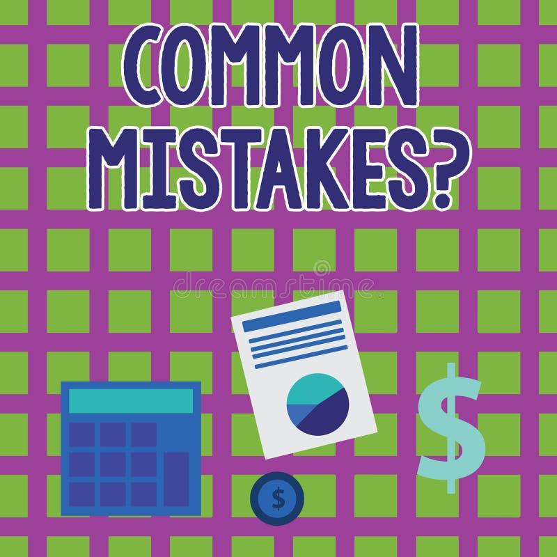 写文本常见错误问题的词 重复行动的企业引入歧途概念或的评断做某事 皇族释放例证