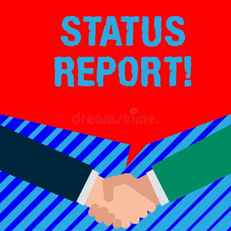 写文本情况报告的词 关系某事的情况的文件的企业概念例如估计两 皇族释放例证