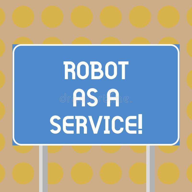 写文本机器人的词作为服务 人工智能数字协助闲谈马胃蝇蛆空白的企业概念 库存例证