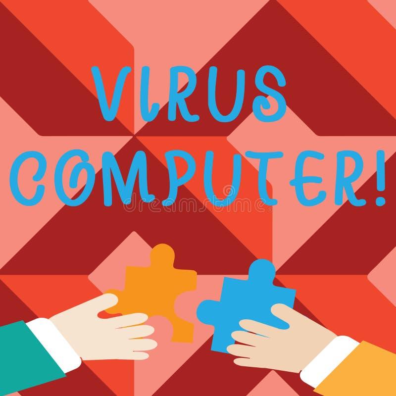 写文本病毒计算机的词 恶意软件程序的企业概念被装载在用户s上是计算机两 皇族释放例证