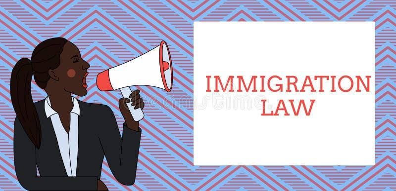 写文本移民法律的词 公民的移出的企业概念将是合法的在做旅行 库存例证