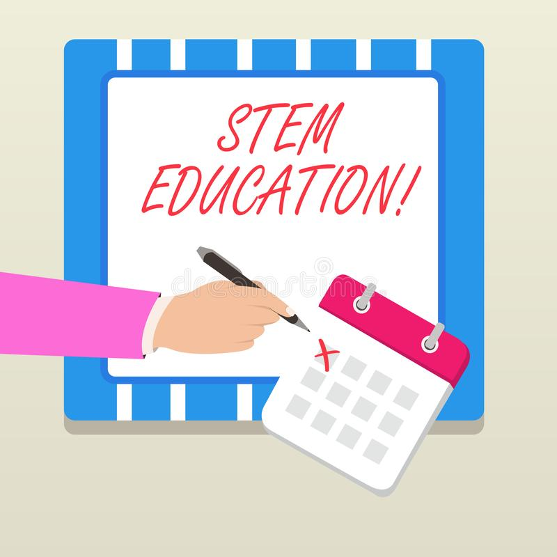 写文本词根教育的词 开发的企业概念能主要和次要学生为学院做准备 向量例证