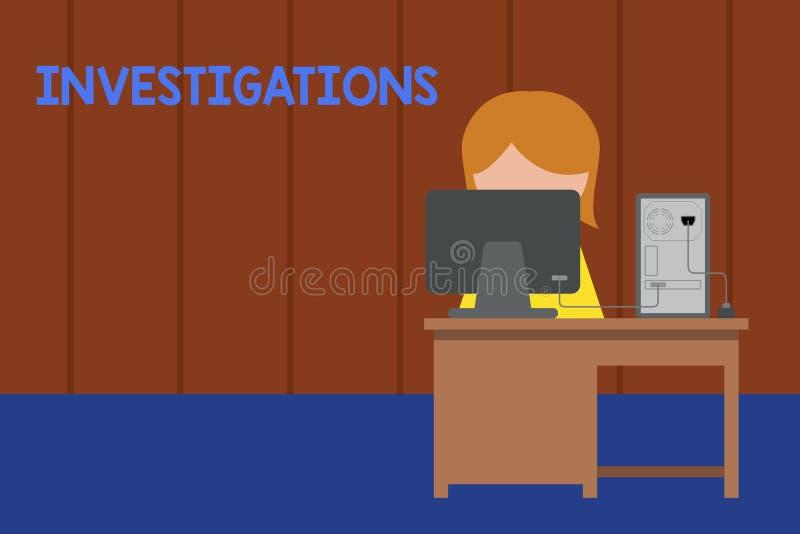 写文本调查的词 正式行动的企业概念或关于年轻的事的系统的考试 库存例证