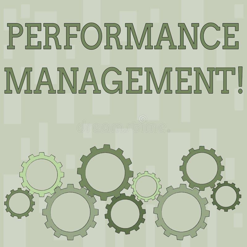 写文本Perforanalysisce管理的词 analysisaging的生产力的企业概念提高质量输入 向量例证