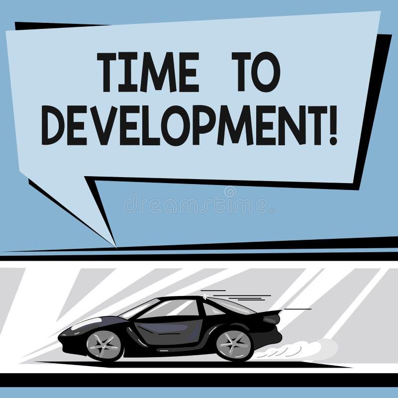 写显示时间的笔记给发展 企业照片陈列的时间在哪家公司期间的增长改善 库存例证