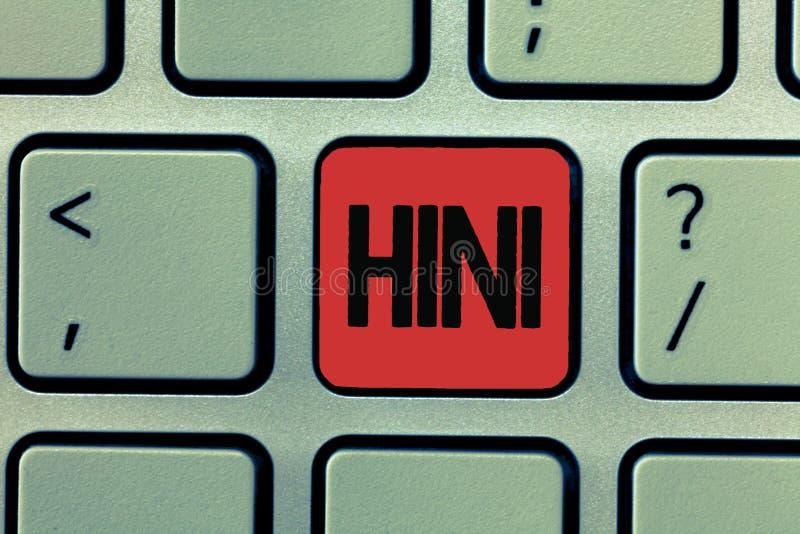 写显示H1N1的笔记 多数共同性由流行性感冒导致的企业照片陈列的猪流感呼吸道疾病 图库摄影