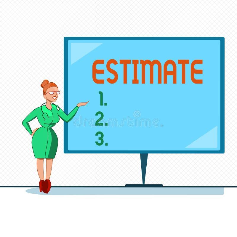 写笔记陈列估计 大致陈列企业的照片计算法官价值数字数量程度  向量例证
