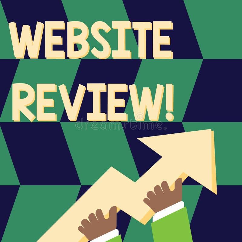 写笔记陈列网站回顾 陈列对企业的用户额定值和评估的企业照片或 皇族释放例证