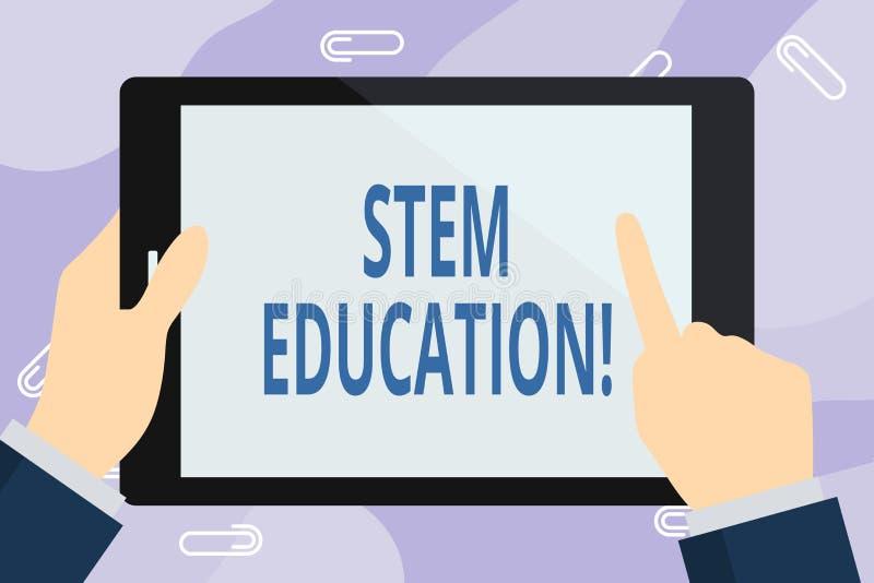 写词根教育的手写文本 概念意思开发主要和次要学生为学院做准备 库存例证