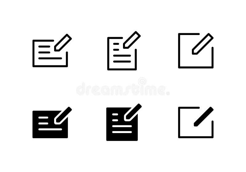 写象商标传染媒介标志 编辑在白色背景隔绝的象 向量例证