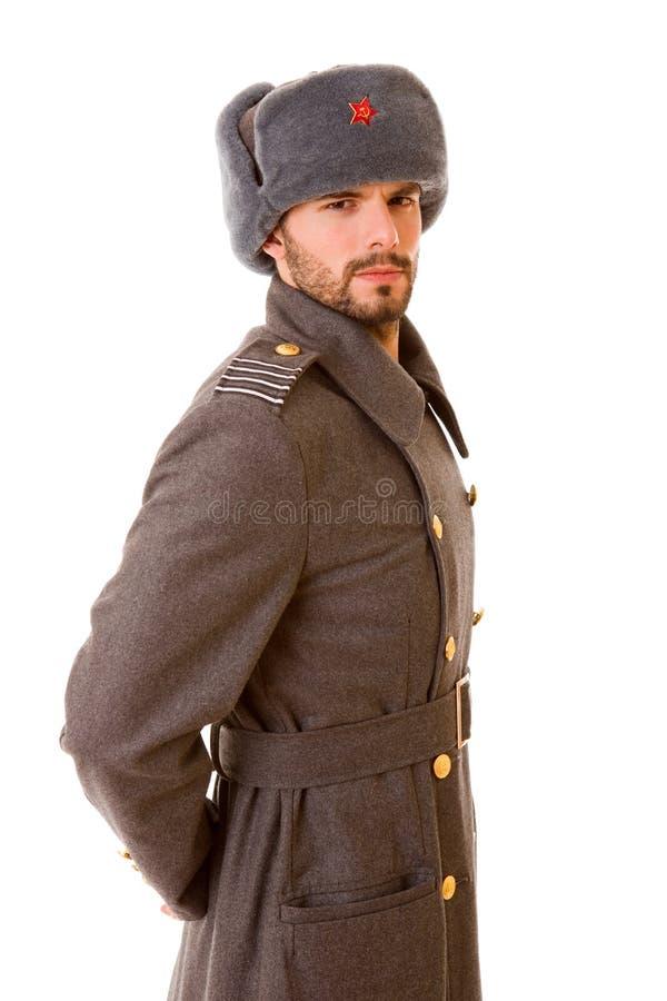 军事俄语 库存照片