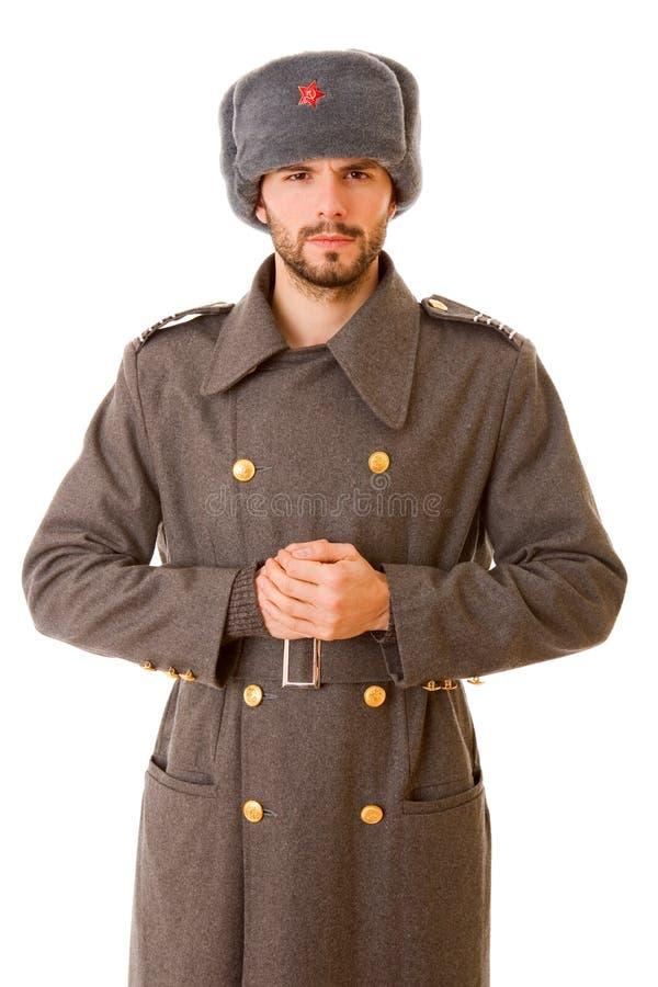 军事俄语 免版税库存照片