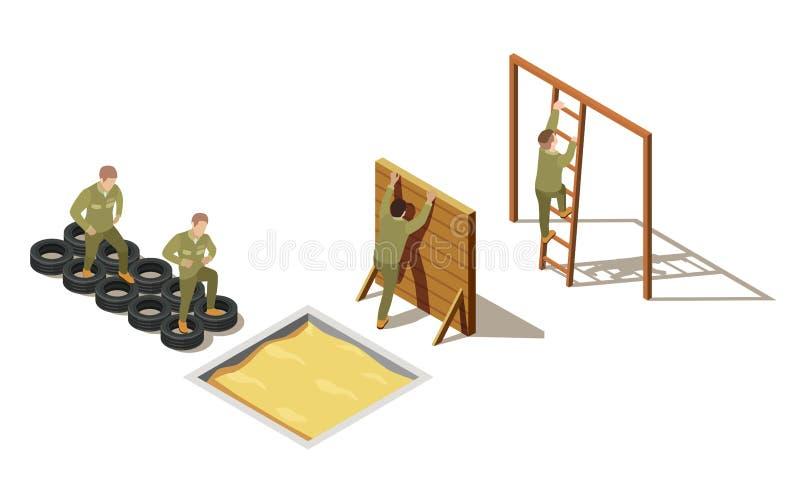 军事吸收训练等量构成 皇族释放例证