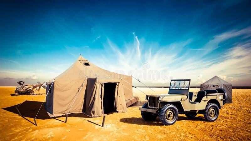 军事基地 图库摄影