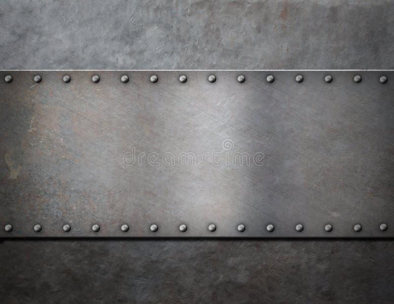 军事金属蒸汽废物背景 免版税库存照片