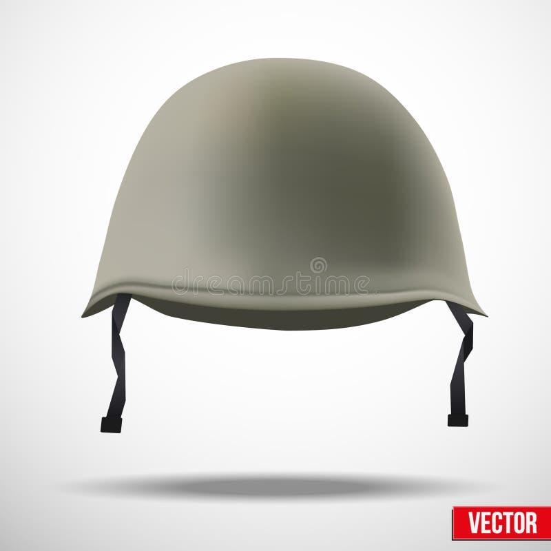 军事经典盔甲传染媒介 库存例证