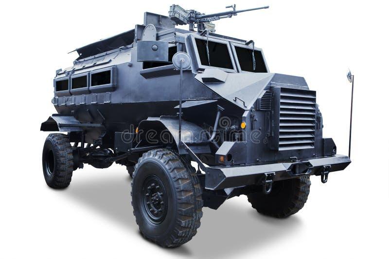 军事-槽车特写镜头  免版税库存照片