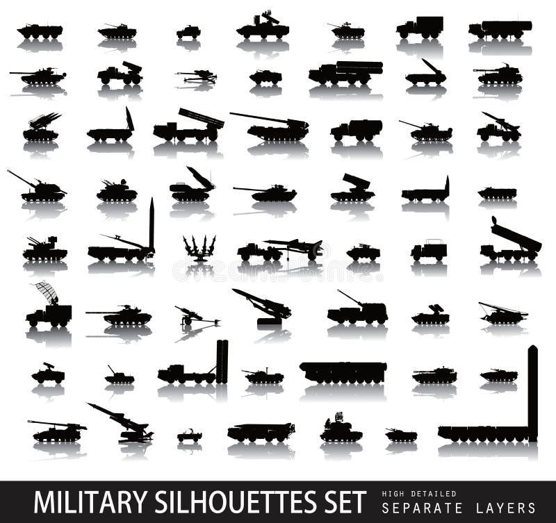 军事 向量例证