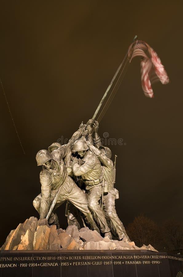 军团dc海洋纪念战争华盛顿 库存图片