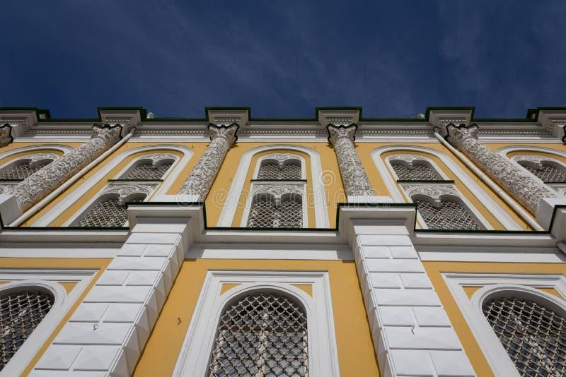 军械库房间围场,克里姆林宫,俄罗斯 库存图片