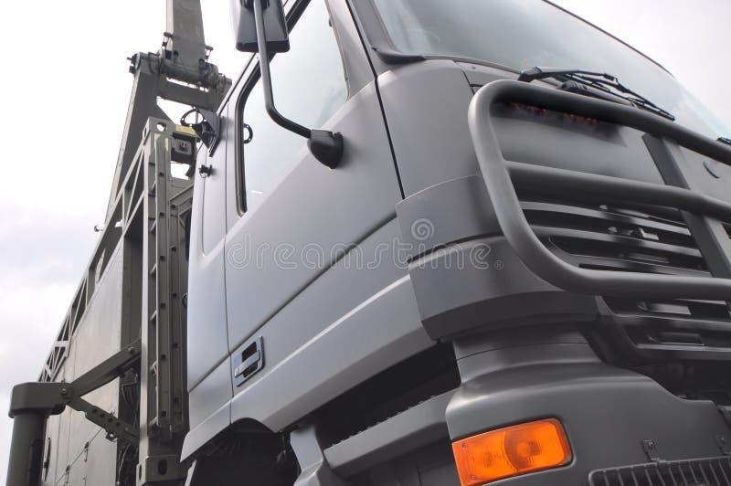 军用卡车 免版税图库摄影