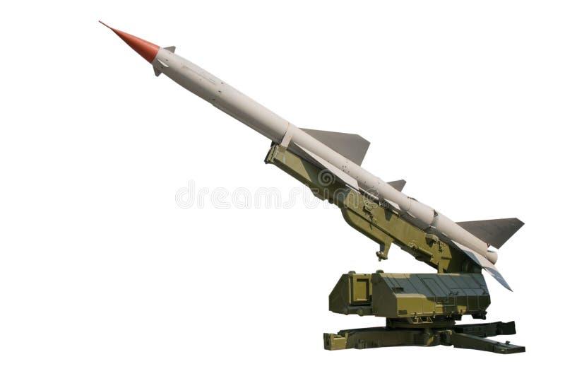 军用火箭 免版税库存照片