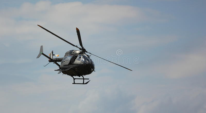 军用直升机 免版税库存照片
