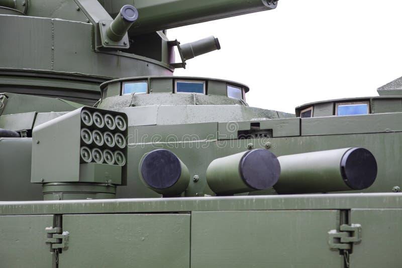 军用装备主动防护自动复合 免版税库存图片
