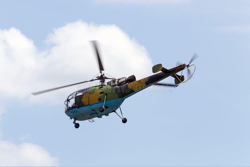 军用直升机 免版税库存图片