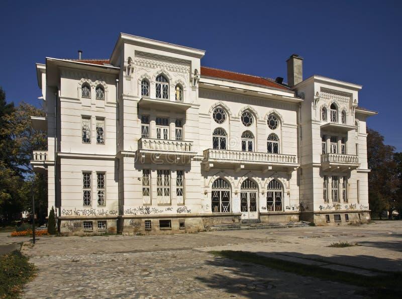 军队俱乐部在比托拉 马其顿 免版税图库摄影