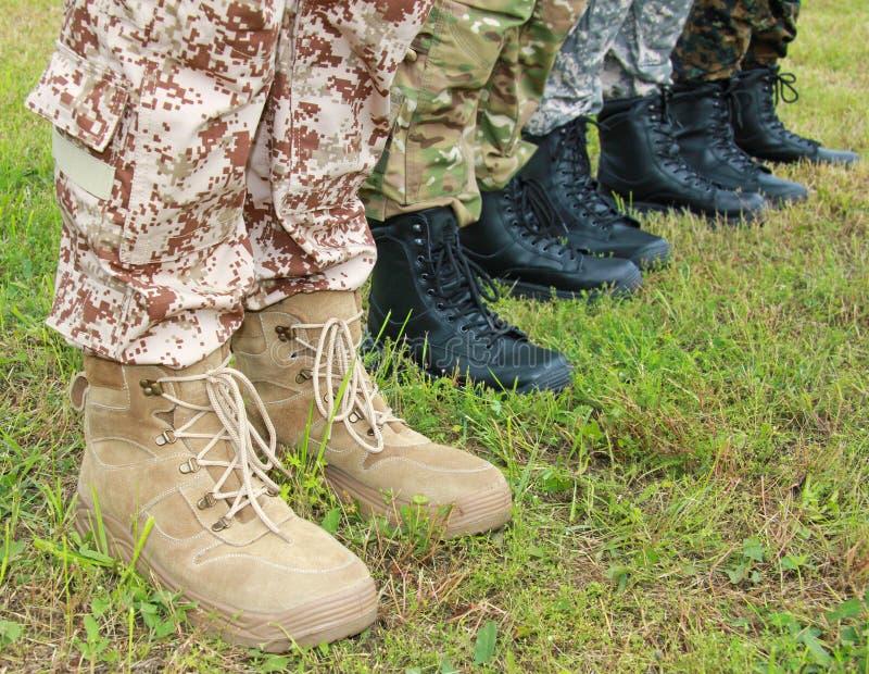 军队,军事起动 免版税库存图片