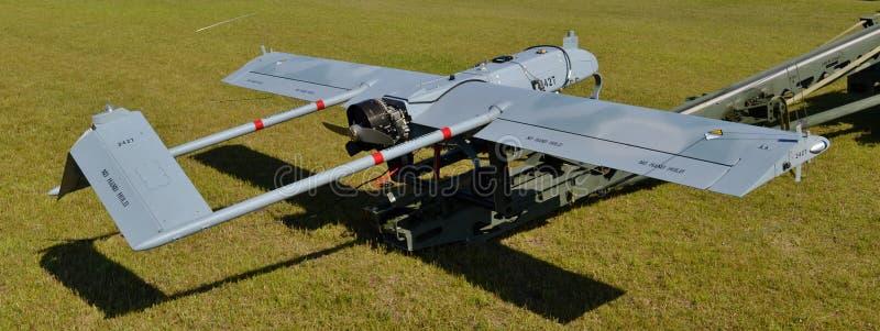 军队RQ-7阴影寄生虫 库存图片