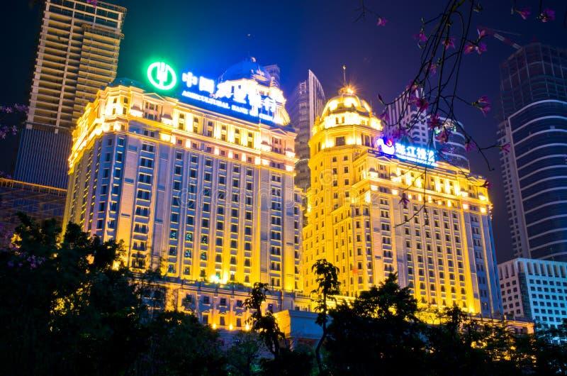 农业中国银行在广州 免版税库存图片