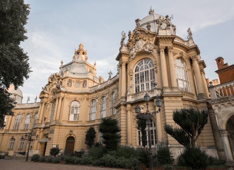 农业博物馆细节在布达佩斯匈牙利 免版税库存图片