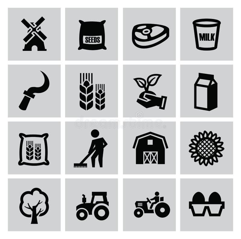 农业和种田 库存例证
