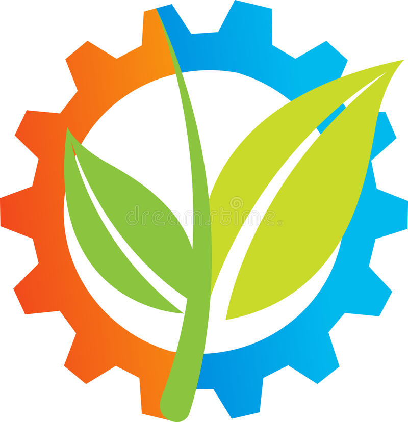农业徽标 库存例证