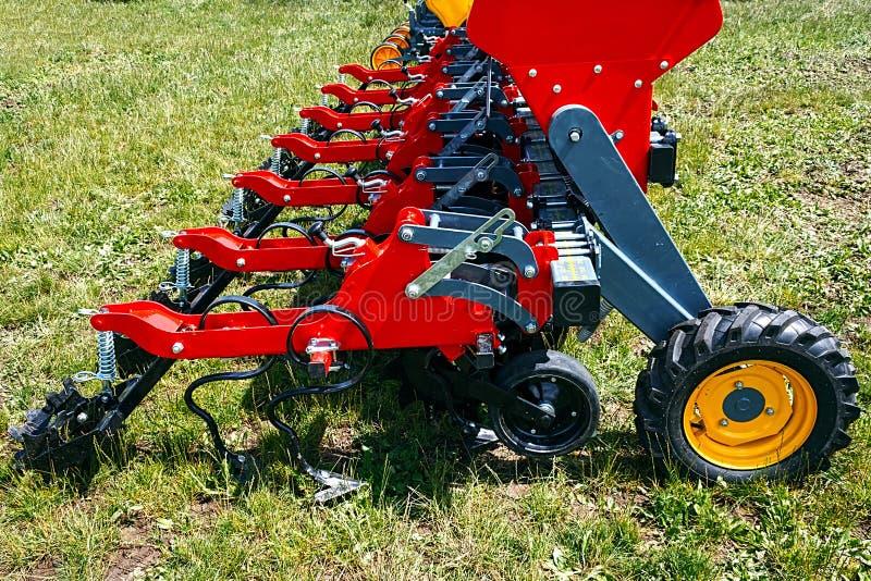 农业设备。细节123 免版税库存照片