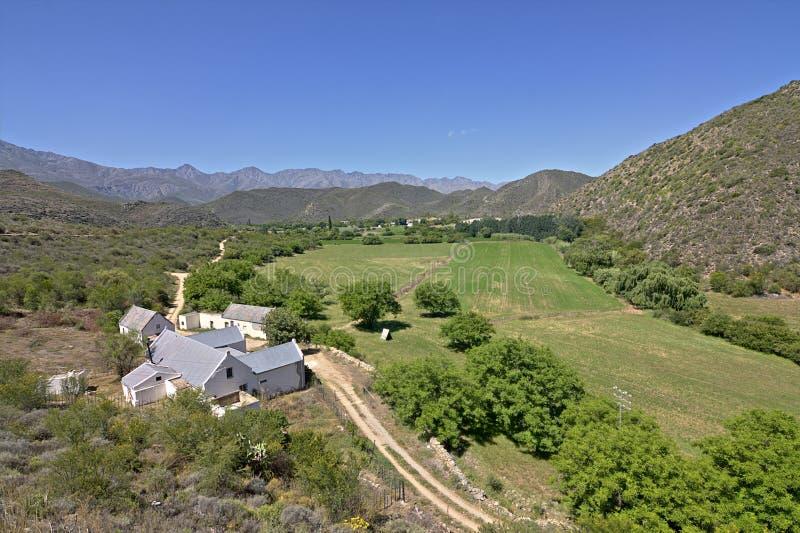 农厂南部非洲的干旱台地高原 免版税库存图片