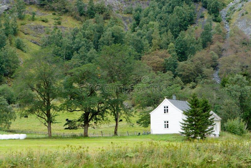 农厂房子 免版税库存图片