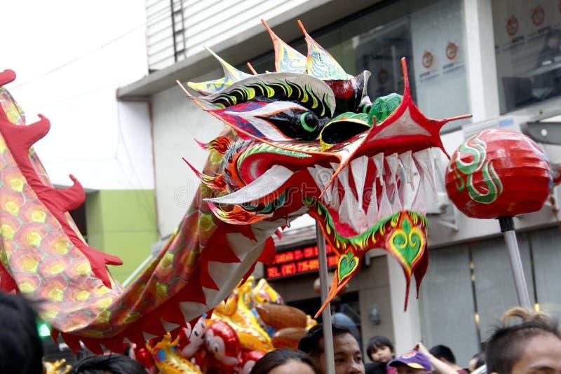 农历新年在马尼拉唐人街 免版税库存图片