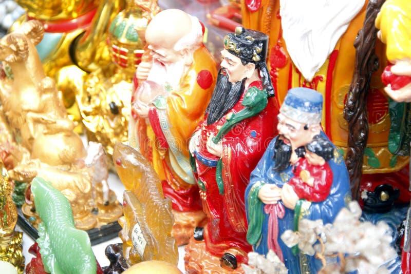 农历新年在马尼拉唐人街 库存图片