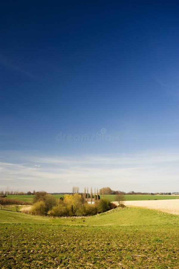 农场隐藏的小 免版税图库摄影