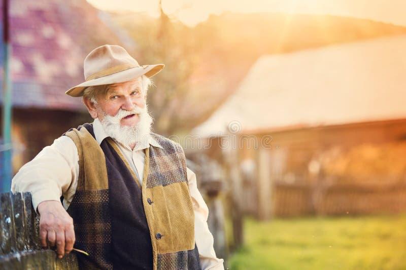 农夫外面本质上 免版税库存图片