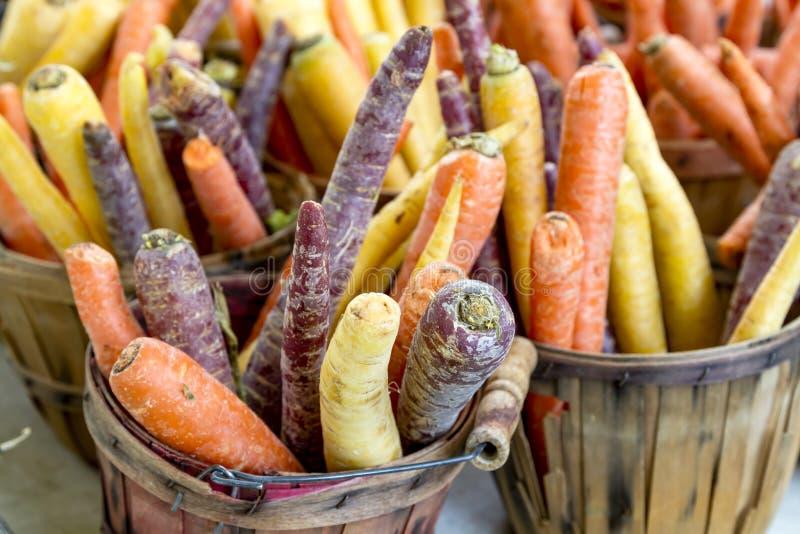农夫市场水果和蔬菜 库存照片