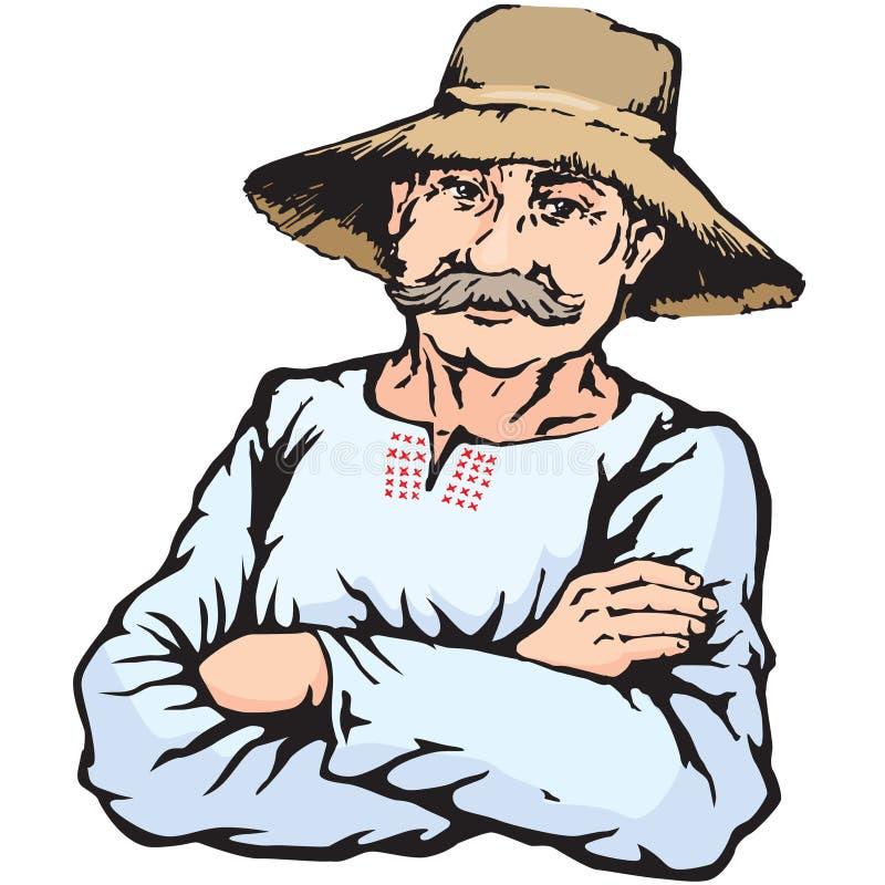农夫帽子_农夫帽子人秸杆村庄