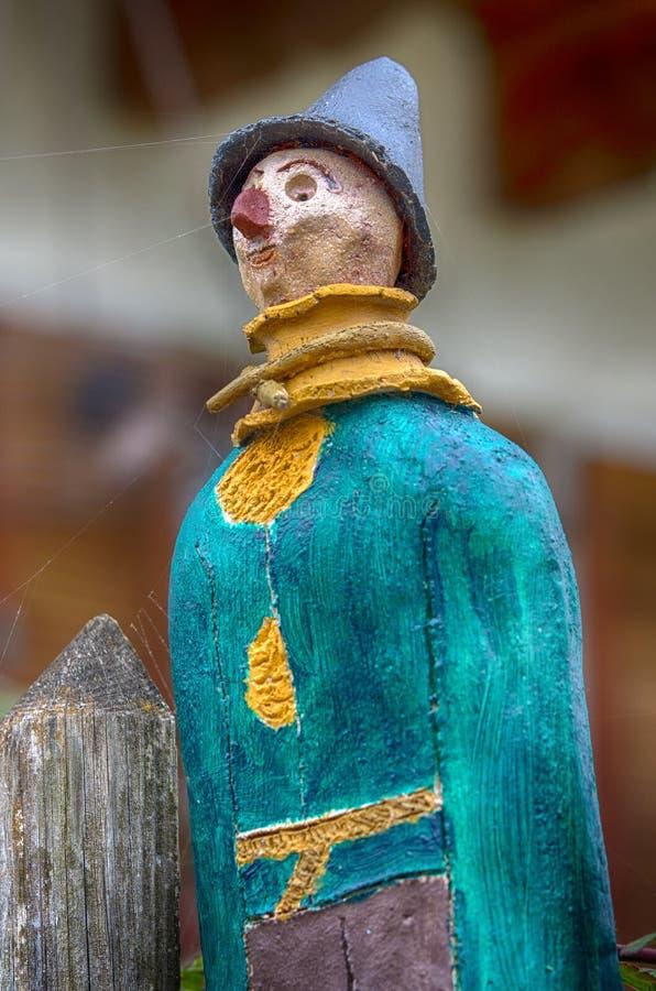 农夫的陶瓷玩偶 免版税库存图片
