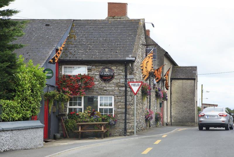 农村爱尔兰客栈和酒吧 库存图片