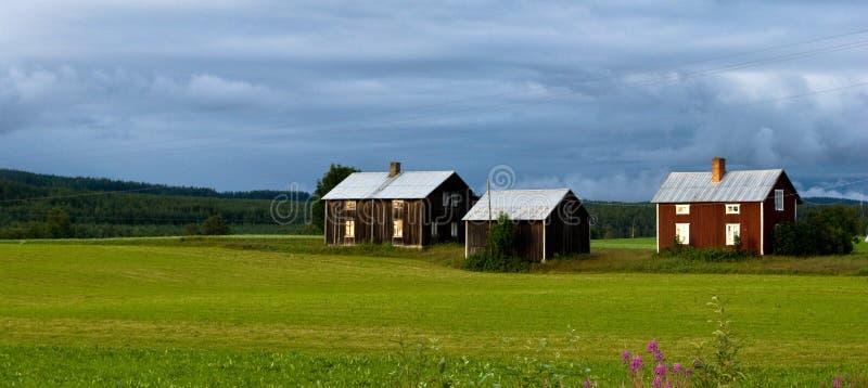 农村瑞典 库存图片