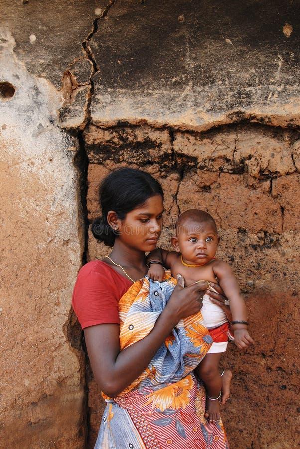 农村的印度 库存图片
