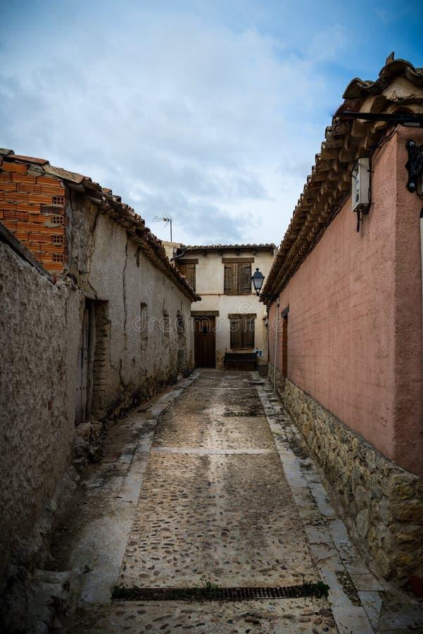 农村的房子 库存图片